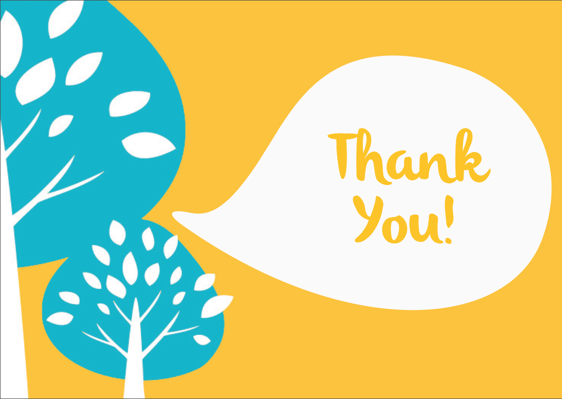 choice therapy thank you card