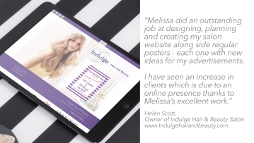 client testimonial Indulge